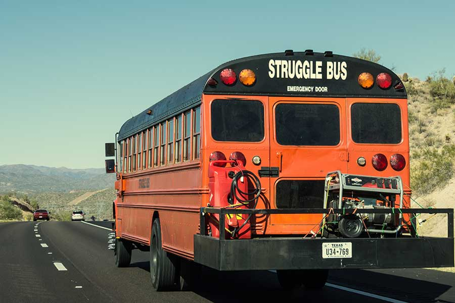 Dealing with Resistance and Jumping Off the Struggle Bus
